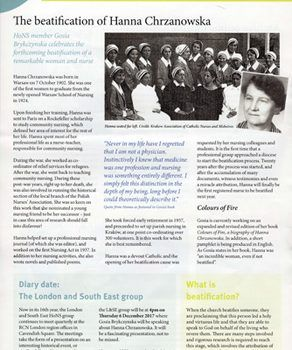 An article in the magazine of the Royal College of Nursing